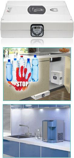 Acqua pura garantita naturale o frizzantedal tuo - Impianto acqua casa ...