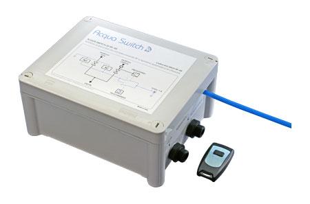 Deviatore di flusso a 1 via per depuratori acqua