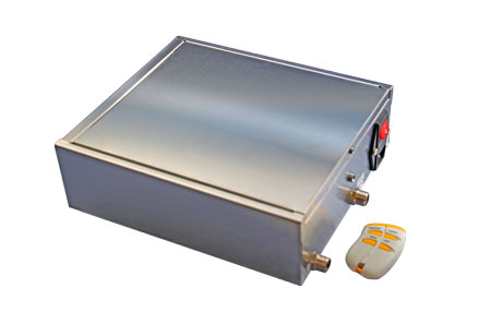 Deviatore di flusso a 3 vie per depuratore acqua