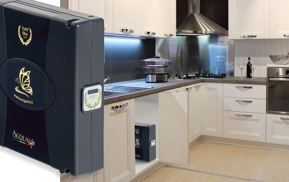 Depuratori acqua ad uso domestico e addolcitoriDepuratore acqua Gold Slim 90 - Depuratori acqua ...