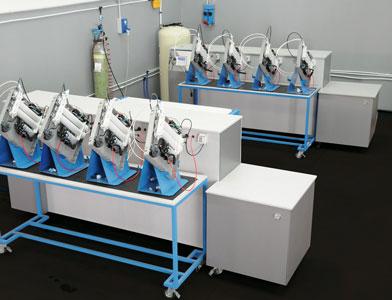 depuratori acqualife controllo qualità dei depuratori d'acqua macchina collaudo rodaggio