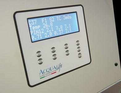 depuratori acqualife controllo qualità dei depuratori d'acqua prove sovrapressione tenuta