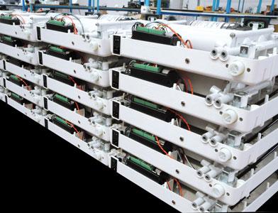 depuratori acqualife controllo qualità dei depuratori d'acqua reparto produzione