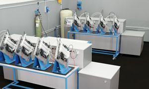 Controllo qualità dei depuratori d'acqua