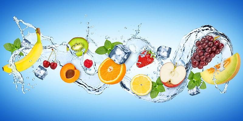 acqua buona e pura da utilizzare per qualsiasi golosità