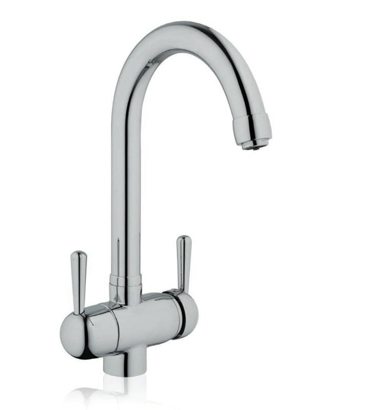 due rubinetti in uno