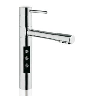 rubinetto miscelatore a 5 vie