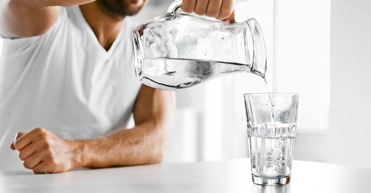 acqua buona direttamente dal rubinetto di casa