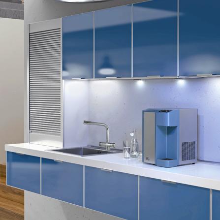 Depuratore d'acqua domestico sopra lavello