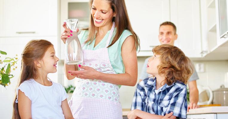 purificatore d'acqua per un acqua buona dal rubinetto di casa
