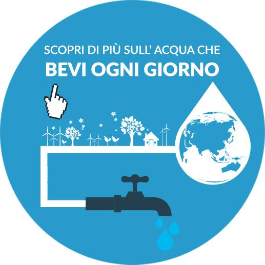info acqua pulita direttamente dal rubinetto di casa