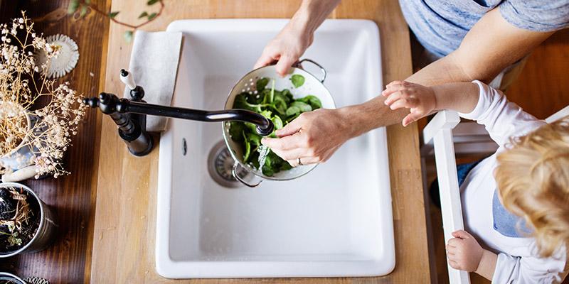 La purezza dell'acqua è fondamentale per cucinare