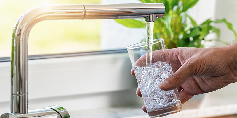 acqua fresca e pulita tutti i giorni senza più il bisogno di utilizzare la plastica