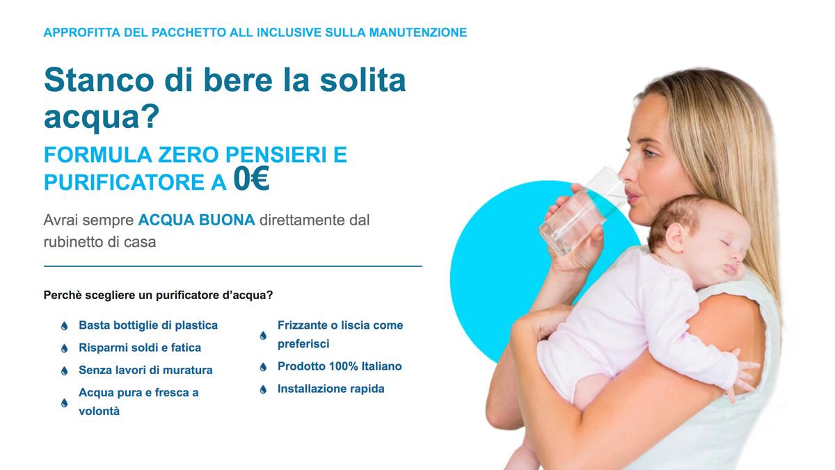 purificatore acqua a zero euro , per tornare a bere acqua pura e buona