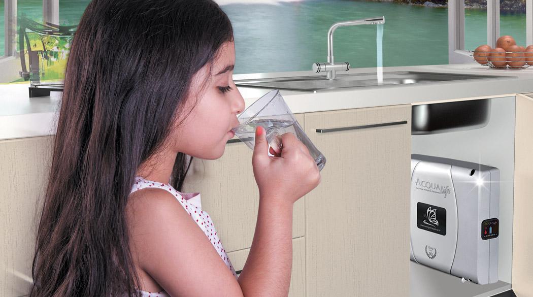 acqua pura e buona dal rubinetto