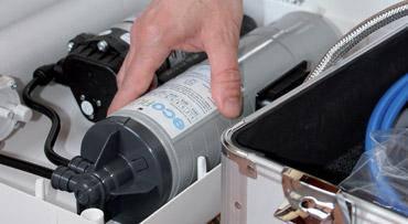 sostituzione e manutenzione del filtro