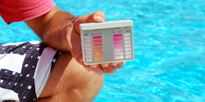 Controllo della qualità dell'acqua in base a determinati indici ph