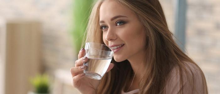 bere acqua con tranquillità direttamente dal rubinetto di casa
