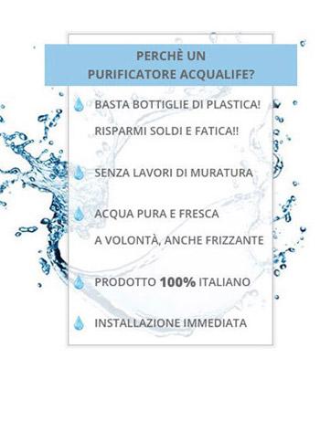 depuratore acqua buona dal rubinetto