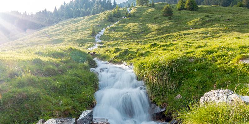 L'acqua di casa arriva direttamente dalla fonte