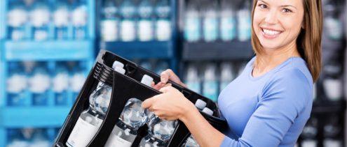 quanto costa una bottiglia d'acqua