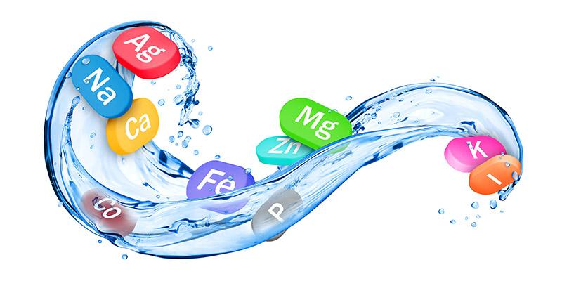 L'acqua contiene magnesio e calcio