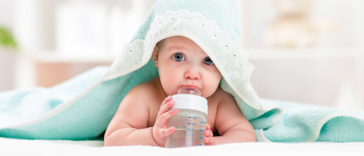 acqua per neonati