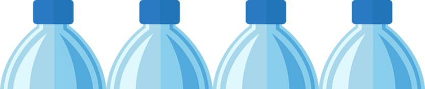 bottiglie di plastica leggere bene l'etichetta