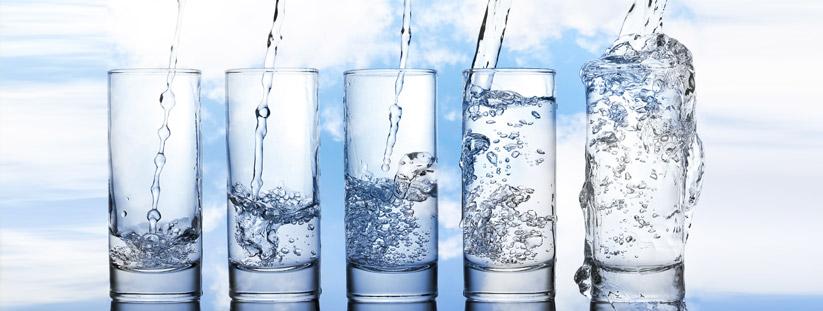diversi tipi di acqua in base alle sue caratteristiche