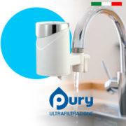 purificare l'acqua con il rubinetto pury