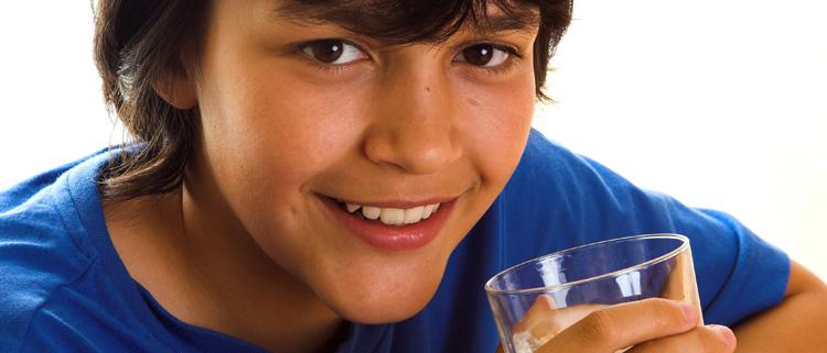 acqua frizzante per bambini