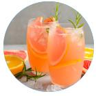 bevanda depurativa contro il raffreddore arancia pompelmo e rosmarino