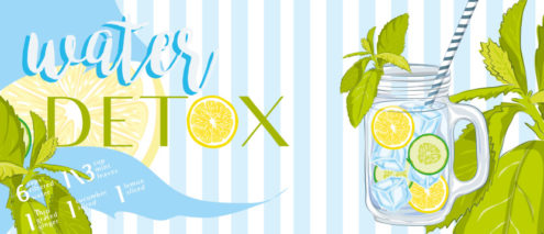 Bevanda detox disintossicante e naturale