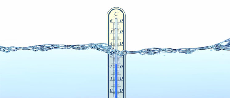 temperatura dell'acqua alla sorgente dati che trovate nell'etichetta dell'acqua