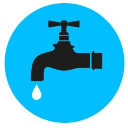 chiudere i rubinetti per risparmiare acqua
