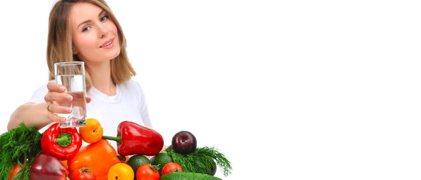 mangiare sano e bere acqua per contrastare i calcoli renali