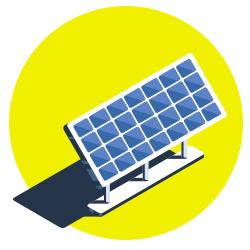 pannelli solari per usare energie rinnovabili