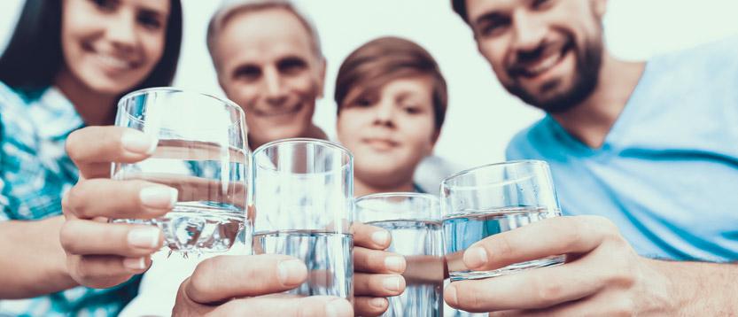 I comuni che si impegnano per avere acqua potabile dai rubinetti di casa