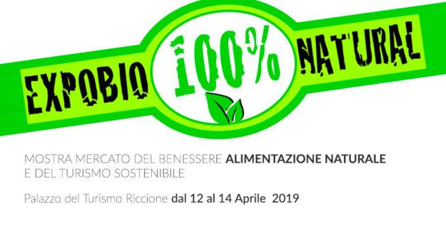 expobio 100% natural a riccione dal 12 al 14 aprile