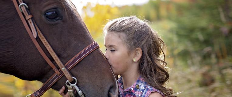 animazione per bambini alla fiera del cavallo a brescia travagliato cavalli