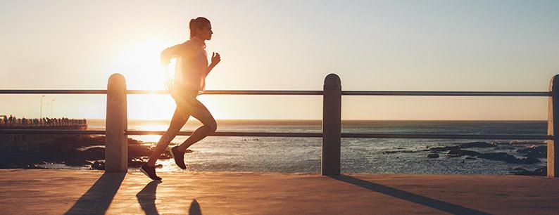 l'attività sportiva è importante, ma nelle ore corrette per evitare il caldo