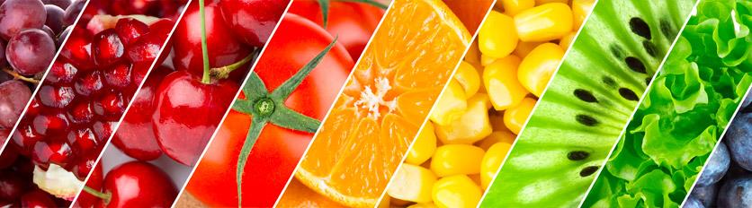 frutta e verdura per idratare l'organismo