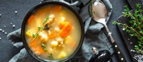 minestrone di verdure buono e salutare