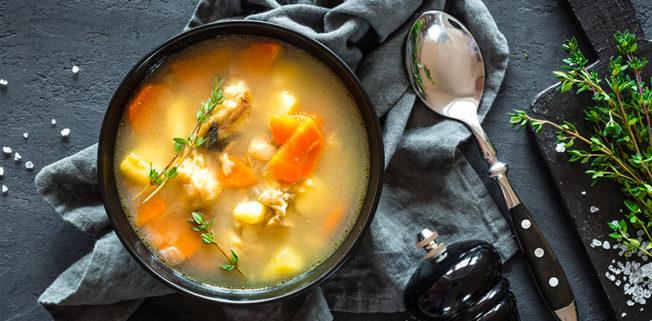 minestrone di verdure, ottimo da gustare