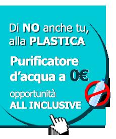 offerta depuratori d'acqua a osmosi inversa a zero euro