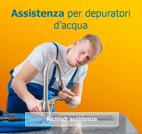 assistenza per depuratore acqua