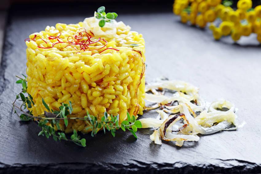 creazioni libere per il risotto allo zafferano