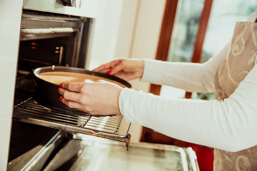 l'importanza della cottura della torta all'acqua