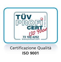 iso 9001 certificazione dei nostri prodotti per la depurazione dell'acqua