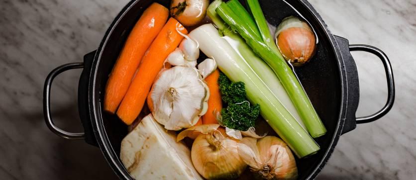 ricetta brodo per il brodo vegetale